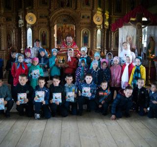 Субботняя Божественная литургия в Никольском кафедральном соборе г.Ардатова