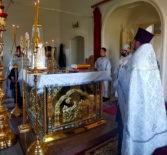 Накануне праздника Вознесения Господня Архипастырь совершил Всенощное бдение в Никольском кафедральном соборе г.Ардатова