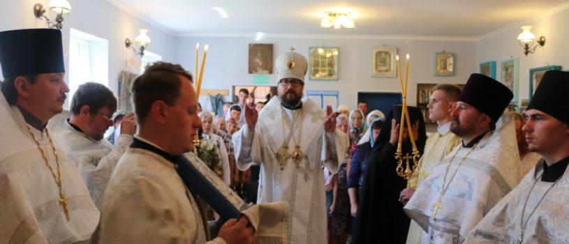 Неделя 7-я по Пасхе, святых отцов I Вселенского Собора, Божественная литургия в Казанском приходе с.Пичеуры Чамзинского благочиния.