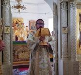 В субботу 2-й седмицы по Пятидесятнице Архипастырь совершил Божественную литургию в Никольском кафедральном соборе г.Ардатова