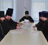 Архипастырь провел рабочее совещание с руководителями профильных епархиальных отделов