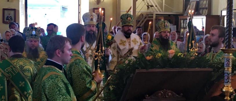 Архипастырский визит в Пензенскую митрополию на празднование обретения мощей святого Иоанна Оленевского