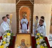 Престольное торжество на Лукинском архиерейском подворье Ардатовской епархии в г.Саранске