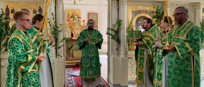 День Святой Троицы в Никольском кафедральном соборе г.Ардатова