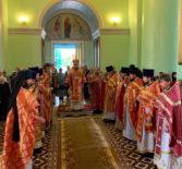 В день памяти великомученицы Параскевы Пятницы Архипастырь совершил Божественную литургию на Архиерейском подворье с.Маколово Чамзинского района