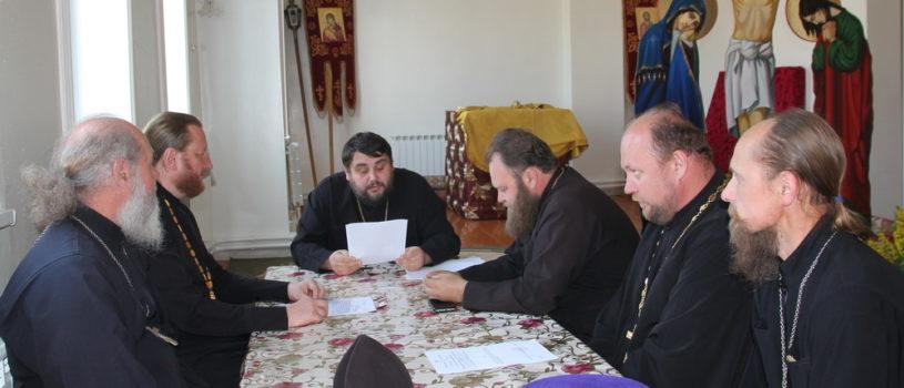 Собрание духовенства Дубенского благочиния