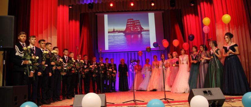 В Дубенском ДК прошел выпускной вечер для Кадетов Дубенской СОШ