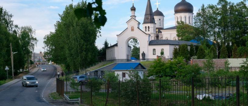 Архипастырский визит в Санкт-Петербургскую митрополию. Всенощное бдение в Константино-Еленинском монастыре Выборгского района