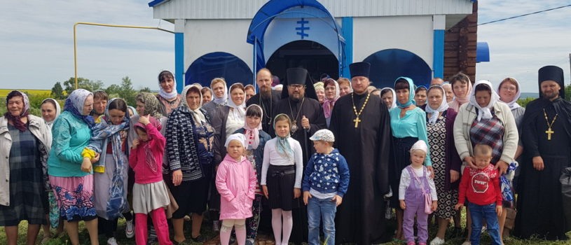 Престольное торжество во Владимирском приходе с.Свиносовхоз Дубенского благочиния