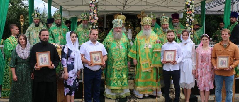 В Муроме прошли торжества, посвященные памяти святых благоверных князей Петра и Февронии