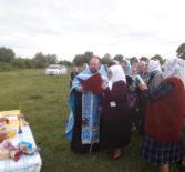 В с.Алашеевка Атяшевского района прошел водосвятный молебен Тихвинской иконе Божией Матери