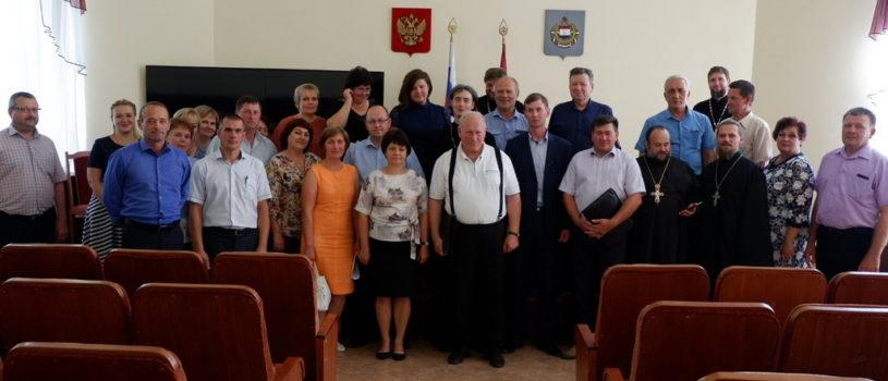 В Ардатове прошло расширенное заседание общественного Совета Ардатовского благочиния