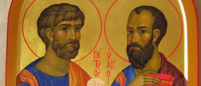 Память святых первоверховных апостолов Петра и Павла в Никольском кафедральном соборе г.Ардатова
