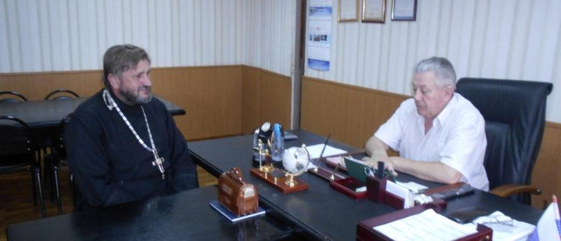 Рабочая встреча с  директором Ардатовского психоневрологического дома-интерната