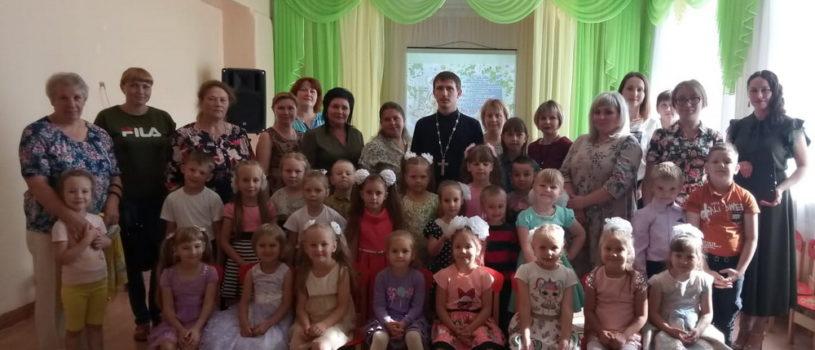 В Ардатовском детском саду «Теремок» прошло мероприятие епархиального отдела «Защита семьи, материнства и детства»