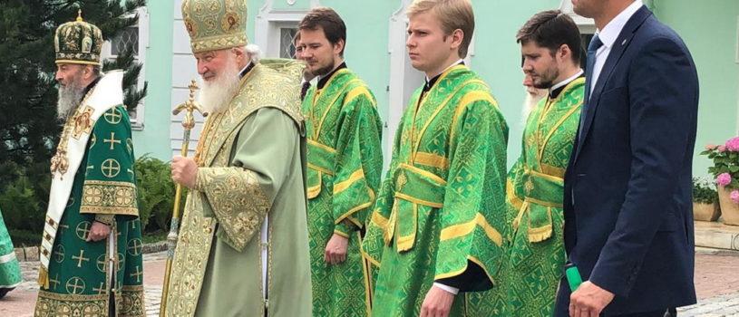Архипастырь Ардатовской епархии принял участие в торжествах в Свято-Троицкой Сергиевой лавре