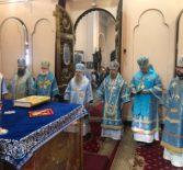 Ардатовский Архипастырь поздравил Владыку Лазаря  с 10-летием основания Нарвской епархии и 50-летием со дня рождения