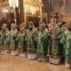 Всенощное бдение в канун дня памяти преподобного Сергия, игумена Радонежского