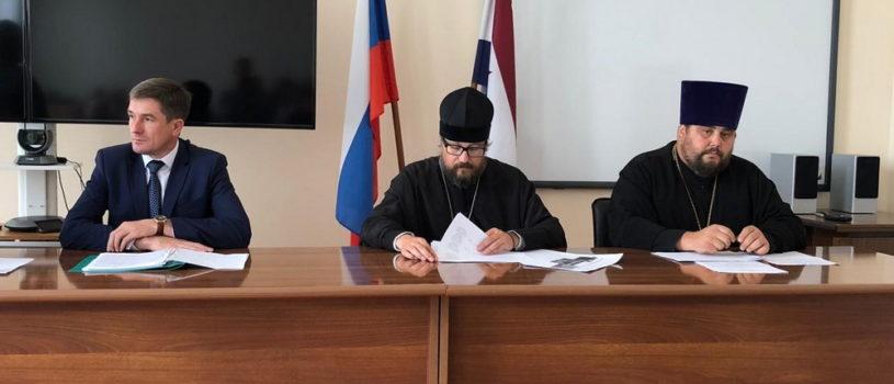 В Дубенках прошло расширенное заседание Общественного Совета по развитию православной культуры в Дубенском благочинии
