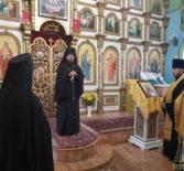 Всенощное бдение на Никольском архиерейском подворье п.Атяшево