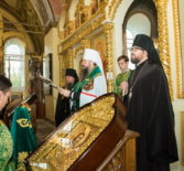В день памяти Иоанна Оленевского в с.Соловцовка состоялась праздничная Литургия. Архипастырский визит в Пензенскую митрополию.