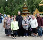 Накануне обретения мощей прп. Серафима Саровского ардатовские паломники посетили Дивеевскую обитель