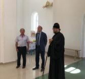 Рабочий визит в новостроящийся Троицкий храм в Больших Березниках
