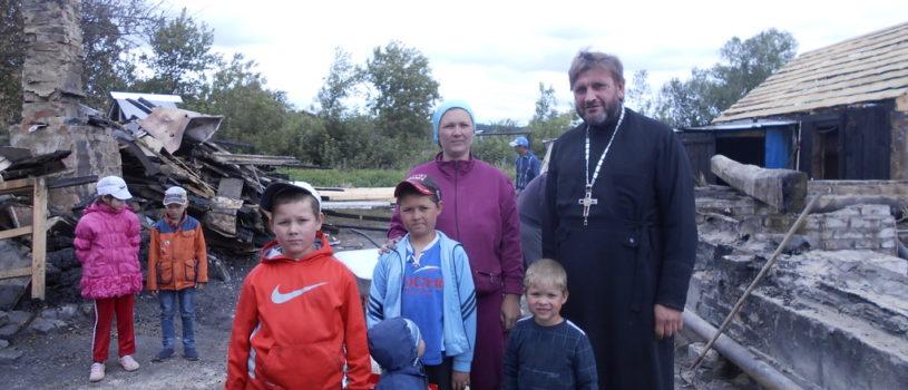Благотворительная акция молодёжного отдела Ардатовской епархии в п.Тургенево Ардатовского района