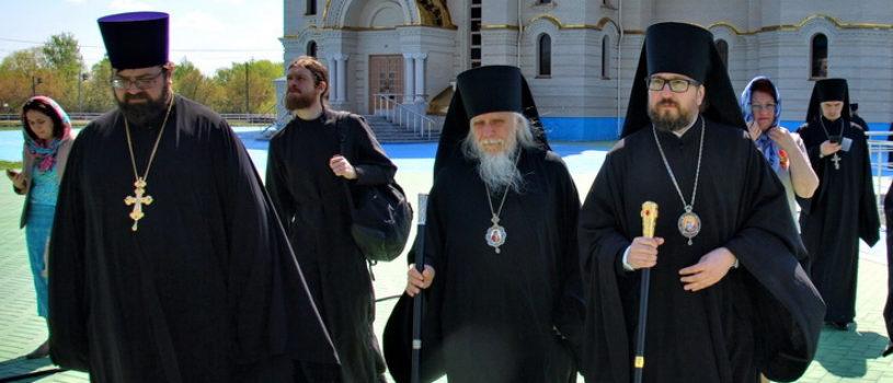 Владыка Вениамин поздравил Владыку Пантелеимона с Днем Тезоименитства