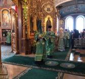 Всенощное бдение в Свято-Троицкой Серафимо-Дивеевской обители