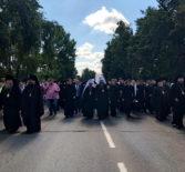 Второй день торжеств в честь преподобной Олимпиады Киевской и Арзамасской в Воскресенском кафедральном соборе г.Арзамаса