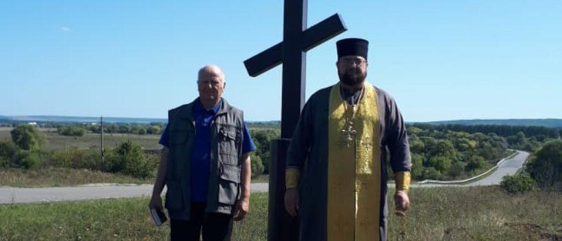 На въезде в Большие Березники установили поклонный Крест