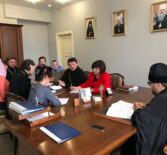В епархиальном управлении Ардатовской епархии прошло заседание оргкомитета Лукинских образовательных чтений