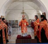 Архипастырь совершил Всенощное бдение накануне дня памяти священномученика Вениамина Петроградского