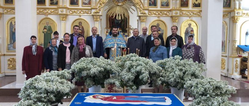 В Дубенках отслужили традиционный молебен святым мученикам Флору и Лавру для работников ветеринарной службы