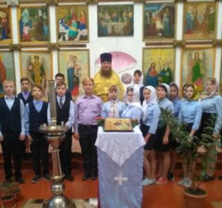 Экскурсия по храму для воспитанников д/с «Колокольчик» п.Комсомольский