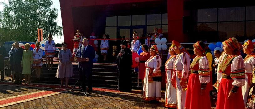 Архипастырь принял участие в торжественном открытии в Большом Игнатове современного Дома культуры