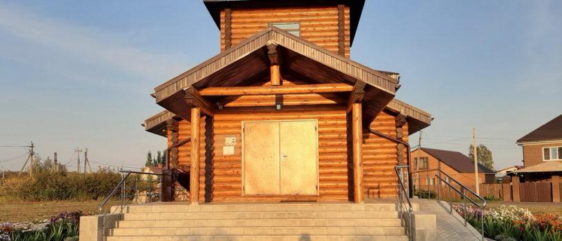 На архиерейском подворье Ардатовской епархии г.Саранска продолжается озеленение прилегающей территории