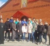 Студенты МГУ имени Н.П.Огарева в рамках акции «География добра» посетили Никольский кафедральный собор г.Ардатова