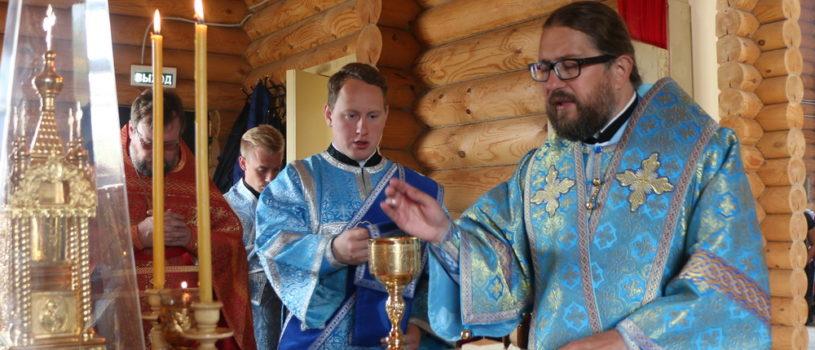Воскресная  Божественная литургия на Лукинском архиерейском подворье г.Саранска