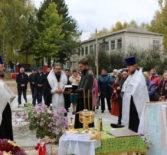 Архипастырь совершил чин закладки новостроящегося храма в с.Старые Найманы Большеберезниковского района