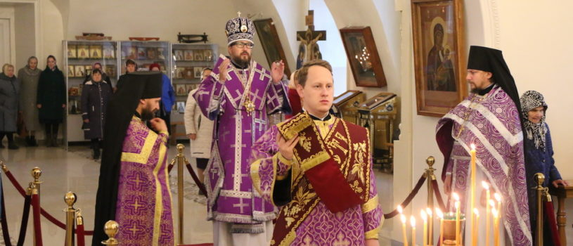 Архипастырь совершил Божественную литургию в день памяти мцц. Веры, Надежды , Любови и матери их Софии