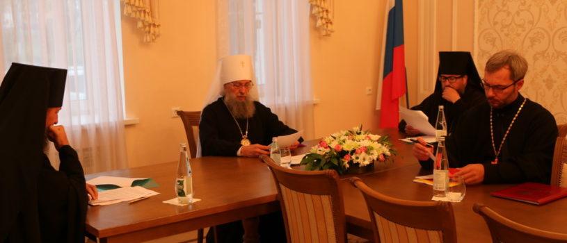 В Саранске прошло заседание Архиерейского Совета Мордовской митрополии
