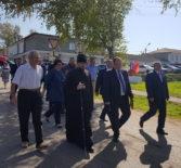 Архипастырь принял участие в торжествах, приуроченных празднованию Дня Ардатовского района