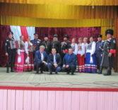 Свято-Введенский приход с.Лобаски Атяшевского района посетили Саранские казаки