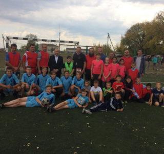 В Больших Березниках прошел товарищеский матч по мини футболу