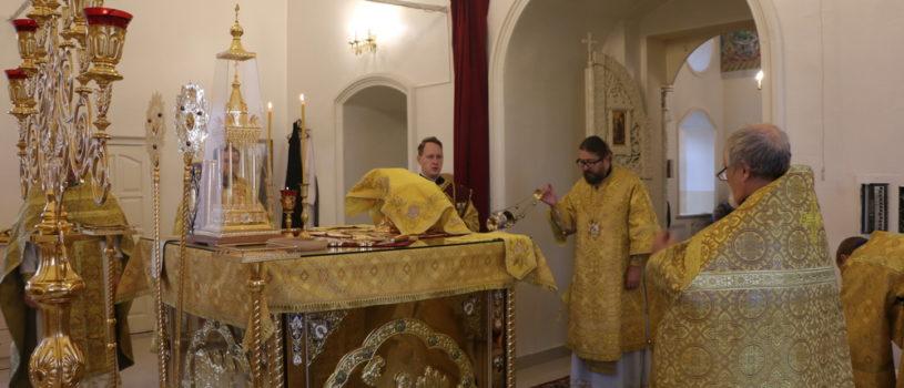 Неделя 17-я по Пятидесятнице, Архипастырь совершил Божественную литургию в Никольском кафедральном соборе г.Ардатова