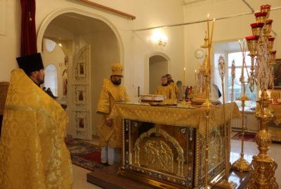 Воскресная Божественная литургия в Никольском кафедральном соборе г.Ардатова