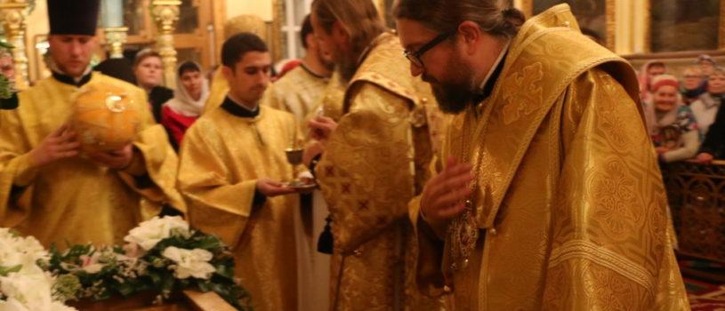 Архипастырский визит в Пензу в день преставления святителя Иннокентия, епископа Пензенского и Саратовского