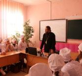 Архипастырь совместно с сотрудниками центрального управления МВД по Республике Мордовия провел профилактическую лекцию для студентов Ардатовского медицинского колледжа